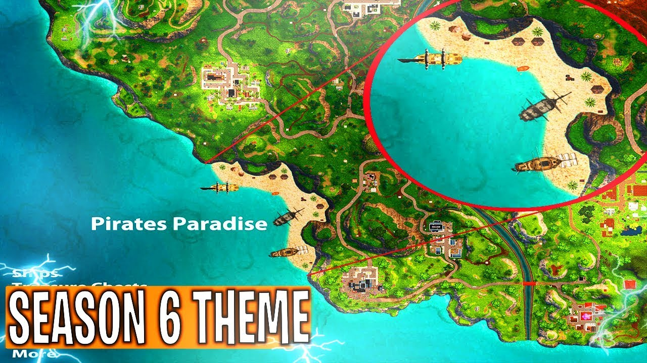 Season 6 Theme Leaked In Fortnite Season 6 Theme Map Changes