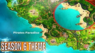 SEASON 6 THEME LEAKED in FORTNITE! SEASON 6 THEME + MAP CHANGES  - Fortnite Battle Royale
