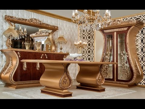 luxury furniture gold furniture royal furniture 27 design youtube. Black Bedroom Furniture Sets. Home Design Ideas
