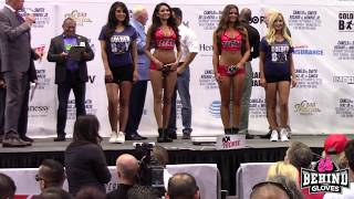 OOOPS! ANDREW CANCIO WEIGHS IN NAKED & TOWEL DROPS!!!/ HE & JOSEPH DIAZ JR MAKE WEIGHT