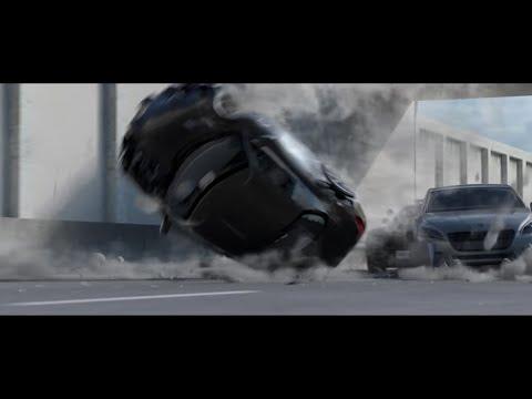 Blender Car crash breakdown