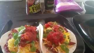 How To Make Spicy Bacon Egg & Cheese Tacos