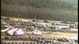 Фильм Распад, 1990года, полет над припятью