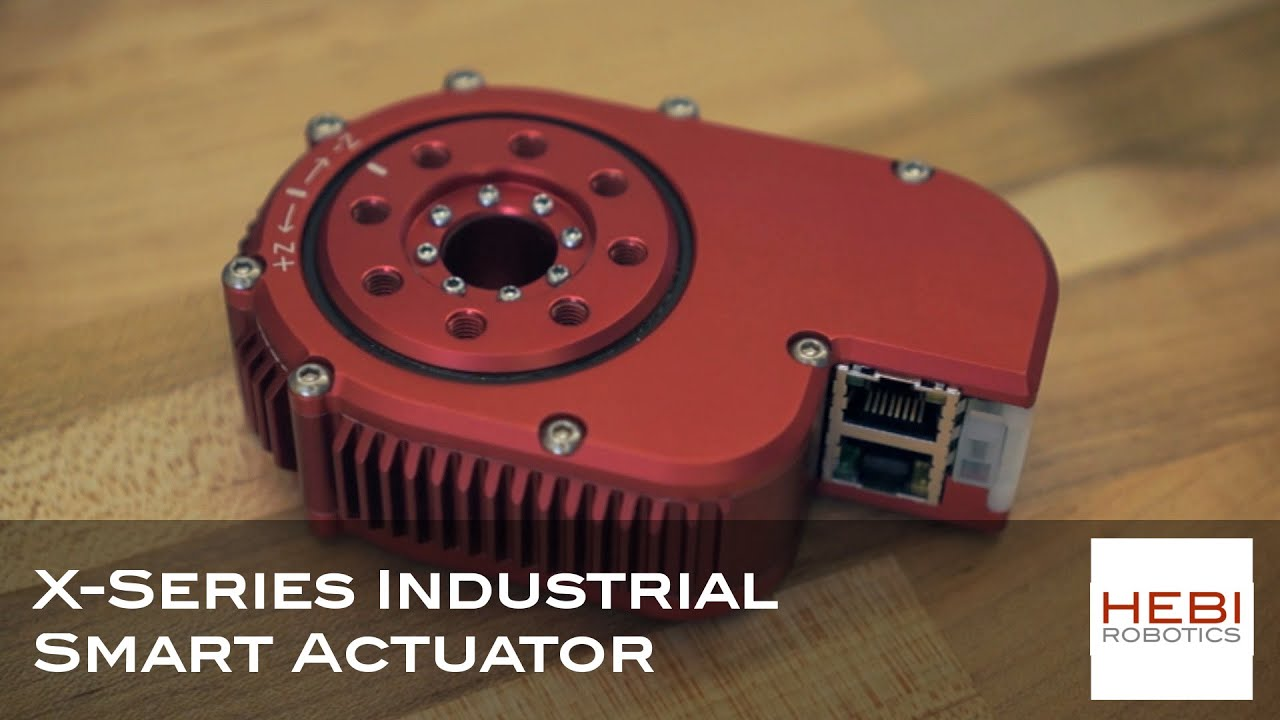 x series industrial smart actuator hebi robotics youtube. Black Bedroom Furniture Sets. Home Design Ideas
