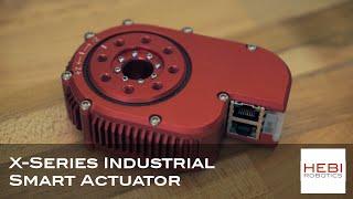 X-Series Industrial Smart Actuator - HEBI Robotics