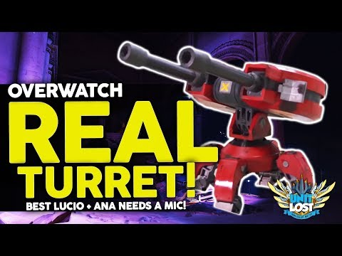 Overwatch - CRAZY REAL Torb Turret! Lucio Top 10 DOMINATION! Ana NEEDS Help! thumbnail