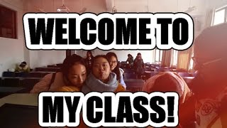 Teaching English in China: A Day in My Class!