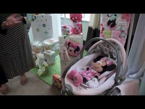 Minnie's Garden Premier Glider Swing from Graco® - Demo