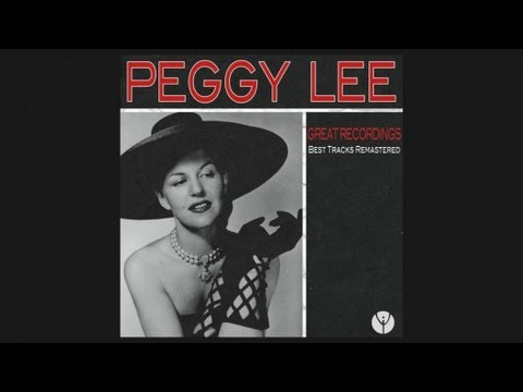 Peggy Lee - It's All Over Now(1946)