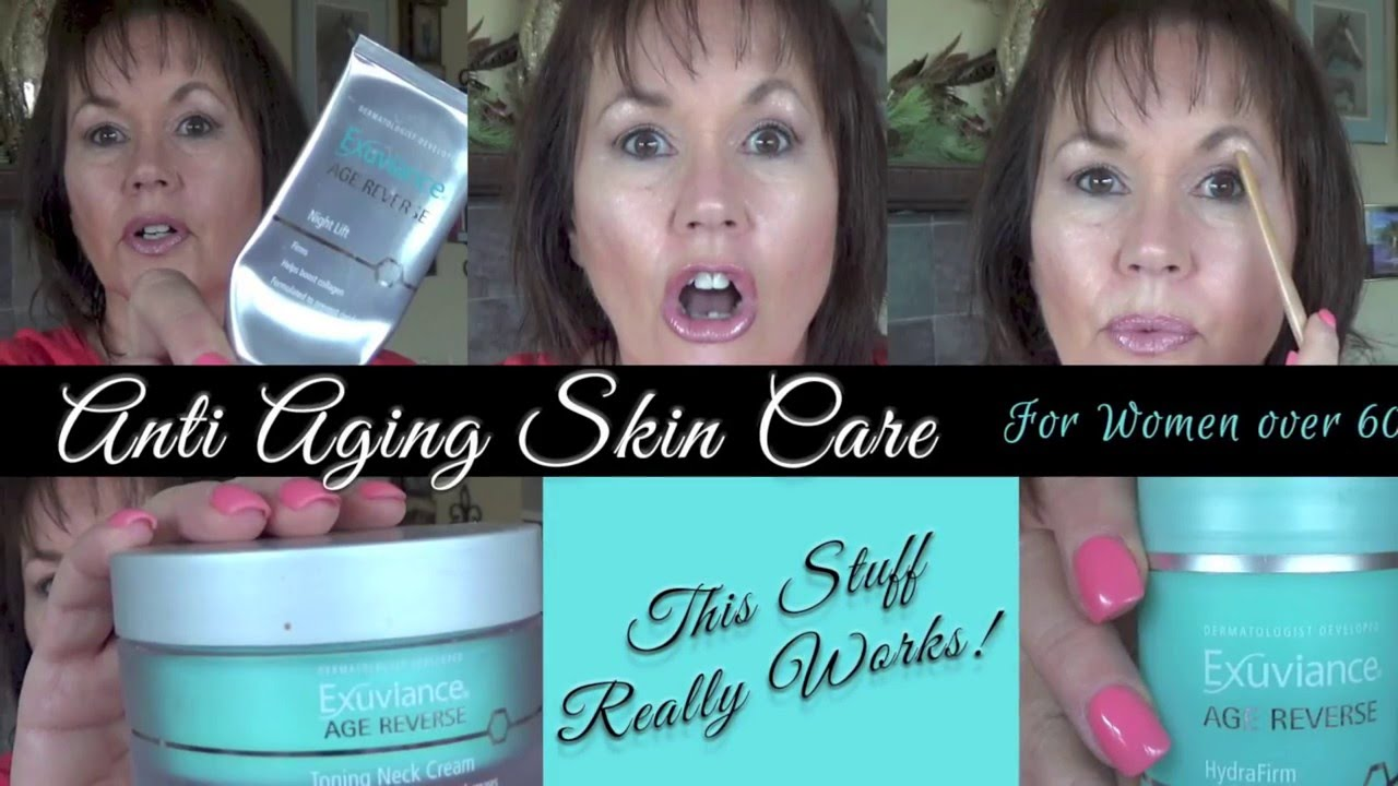 Anti Aging Skin Care Routine Women Over 60 Youtube