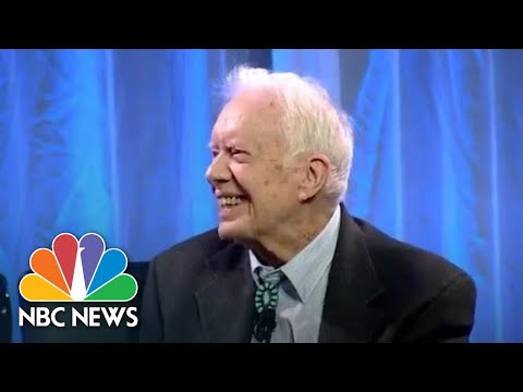 Jimmy Carter Suggests Trump Is Illegitimate President Because Of Russian Interference | NBC News