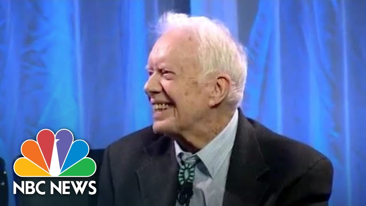 Jimmy Carter suggests Trump is an illegitimate president