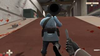 Team fortress 2 - Mapa tr_walkway i trening stairstabow ;)