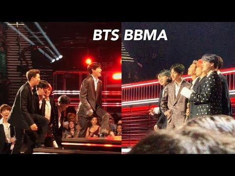 We went to the BBMAs A little sad fact about BTS