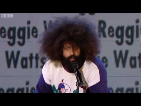 Reggie Watts - Russell Howard's Good News - YouTube