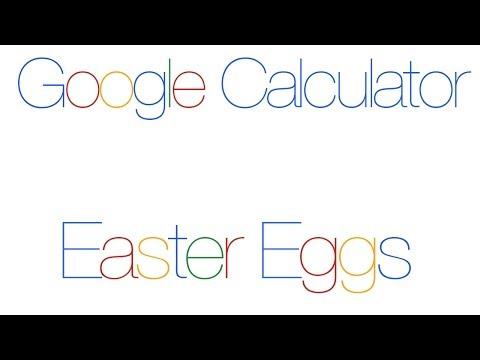 Google Calculator Easter Eggs - Baker's Dozen