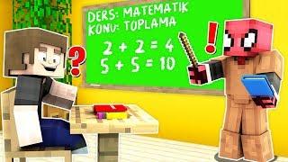 FAKİR OKULDA ÖĞRETMEN OLDU! 😱 - Minecraft