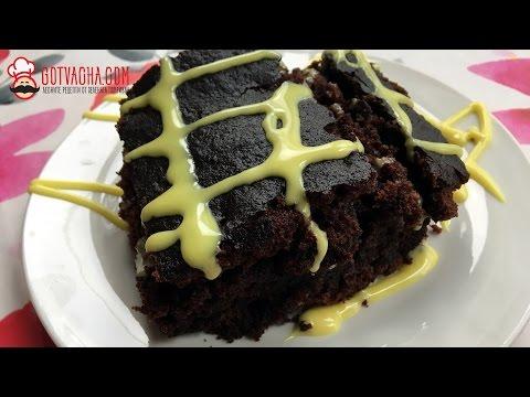 Шоколадный пирог с какао в