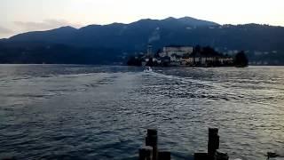 Orta San Giulio (San Giulio Island). Music by Paolo Pagnani - The Midnight Sun