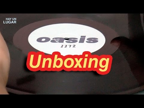 Unboxing #Oasis Be Here Now Vinyl CD Book #Supersonic