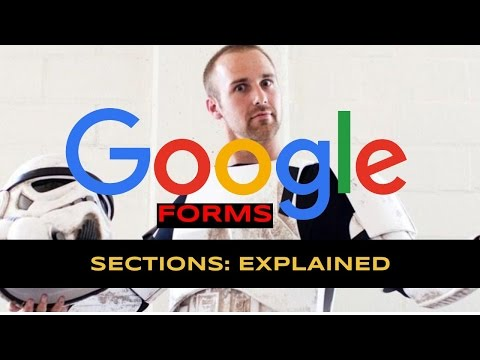 What are Sections? // Google Forms