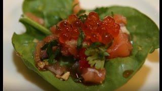 Юлия Высоцкая — Тайская закуска с семгой