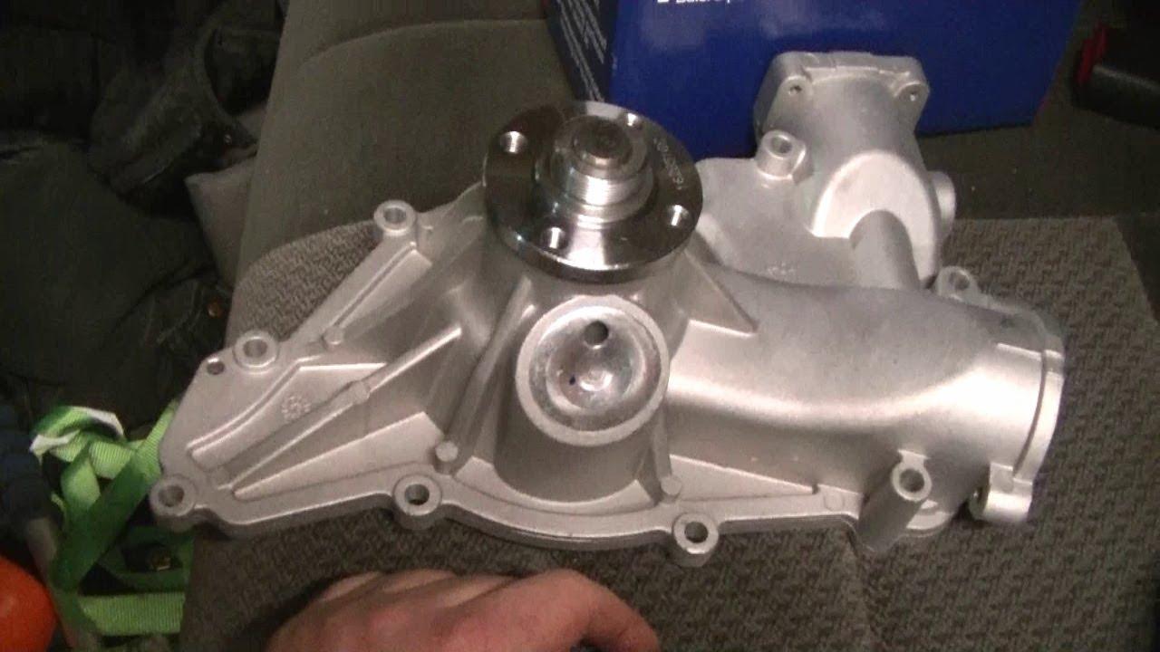 medium resolution of ford 7 3l powerstroke diesel waterpump replacement