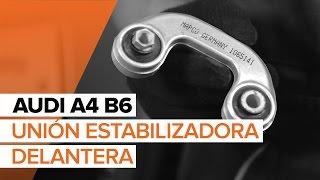 Montaje Bieletas de Suspensión delantera y trasera AUDI A4 (8E2, B6): vídeo gratis