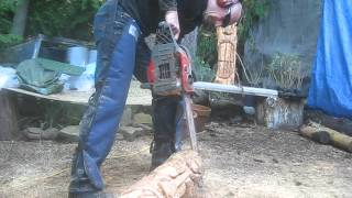 How to Carve a Polynesian Style Tiki