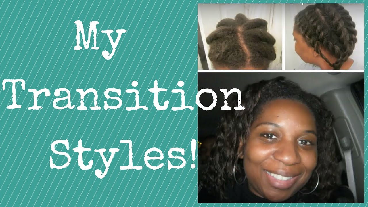 My 4 to 8 Month Transition to Natural Hair Styles | LP Share - YouTube