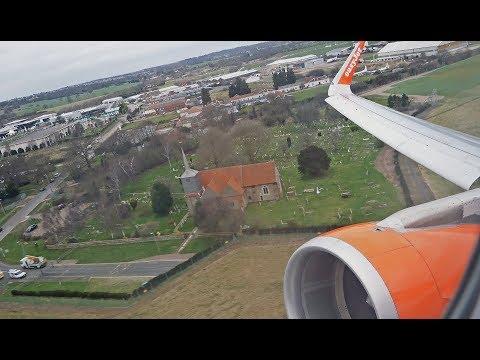 (4K) 20 Years easyJet A320 | London Southend to Lanzarote | Flight Video - EZY7451