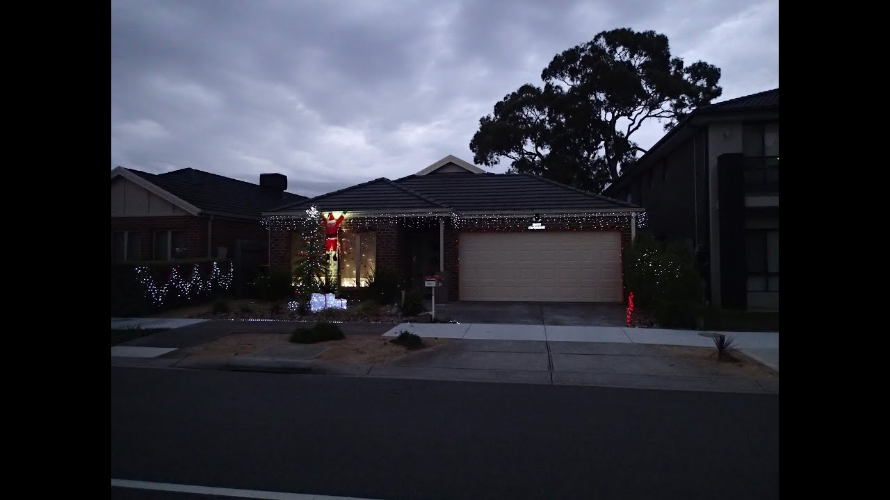 i dedicate this house to the vollman family christmas solar outdoor christmas lights youtube