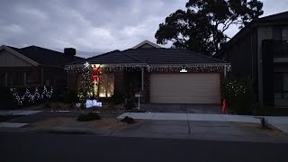I Dedicate This House To The Vollman Family Christmas! Solar Outdoor Christmas Lights