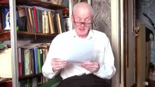 поэт Виктор Евграфов читает свои стихи