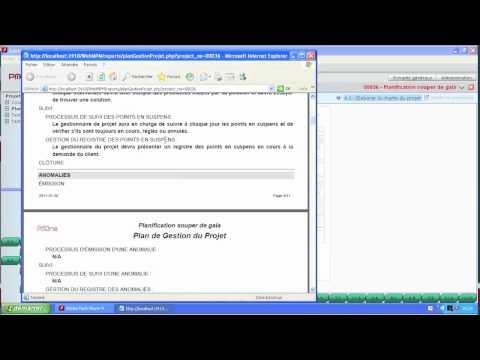 PMOne - Gestion de projet - Les extrants de PMOne
