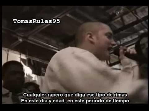 Rare Eminem Underground Rap Battle (1996 Hip Hop Shop)