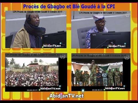 2ème p. CPI-5 Oct. 2017: Mangou honni à travers une vidéo où il déclare Gbagbo le président élu