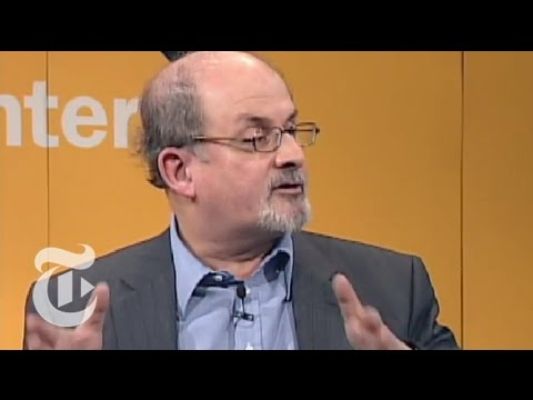 TimesTalks: Salman Rushdie: The Origin of Storytelling | The New York Times
