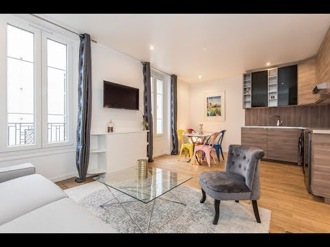 (Ref: 92079) 1-Bedroom furnished apartment for rent on rue Baudin (Levallois-Perret)