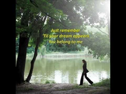 Carla Bruni - You Belong To Me with Lyrics
