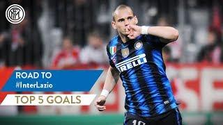 INTER vs LAZIO | TOP 5 GOALS | Sneijder, Kovacic, Dalmat and more...!