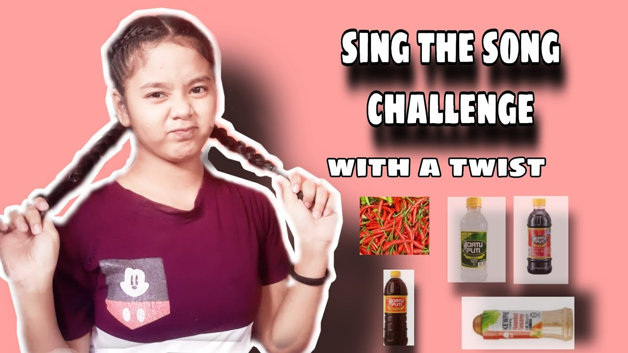Sing the song challenge