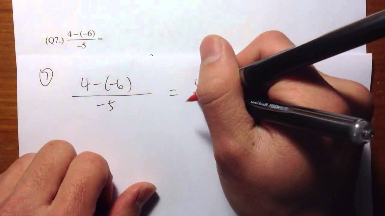 ACCUPLACER] (Q7.) Elementary Algebra Official Practice Problems ...