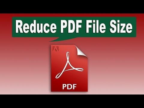 How To Reduce PDF Document File Size By Using Adobe Acrobat Live Cycle