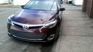 2014 Toyota Avalon xle walk around, start up, and in depth review