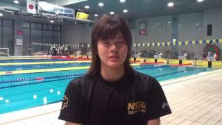 世界水泳バルセロナ代表選手:大塚美優(日本体育大学)