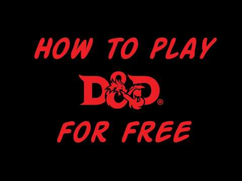 How to Play Dungeons and Dragons Fifth Edition (D&D 5e) for Free! - Crit Games