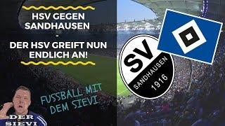HSV gegen Sandhausen - Der HSV greift nun endlich an!