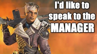 Karen Bangalore Wants to Speak to the Manager in Apex Legends