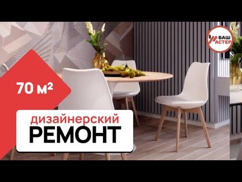 Ремонт двухкомнатной квартиры в Самаре - Готовый ремонт - Обзор ремонта - Вариант отделки - премиум